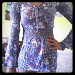 Tops - Periwinkle dress/ top